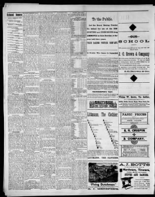 Richmond Democrat From Missouri On August 28 1884 Page 2