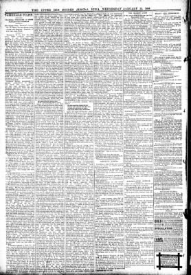 The Algona Upper Des Moines from Algona, Iowa on January 31, 1894 · Page 6