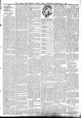 The Algona Upper Des Moines from Algona, Iowa on February 7, 1894 · Page 3
