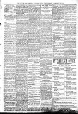 The Algona Upper Des Moines from Algona, Iowa on February 7, 1894 · Page 5