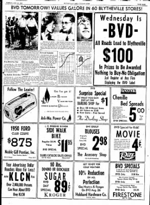 The Courier News from Blytheville, Arkansas on August 25, 1953 · Page 9