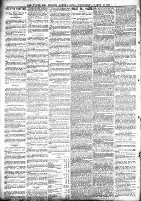 The Algona Upper Des Moines from Algona, Iowa on March 28, 1894 · Page 2