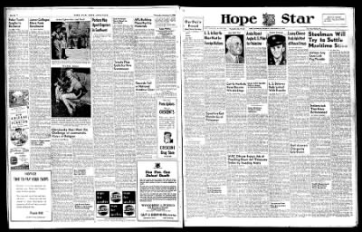 Hope Star from Hope, Arkansas on September 11, 1946 · Page 6