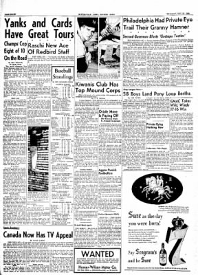 The Courier News from Blytheville, Arkansas on May 20, 1954 · Page 8