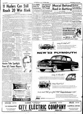 The Courier News from Blytheville, Arkansas on August 26, 1953 · Page 8