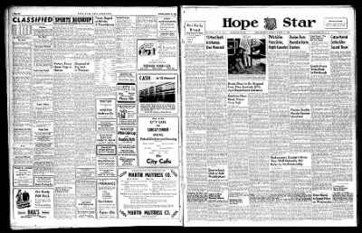 Hope Star from Hope, Arkansas on October 21, 1946 · Page 1