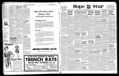 Hope Star from Hope, Arkansas on October 23, 1946 · Page 1