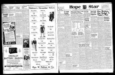 Hope Star from Hope, Arkansas on November 15, 1946 · Page 1