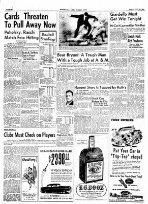 The Courier News from Blytheville, Arkansas on May 21, 1954 · Page 6
