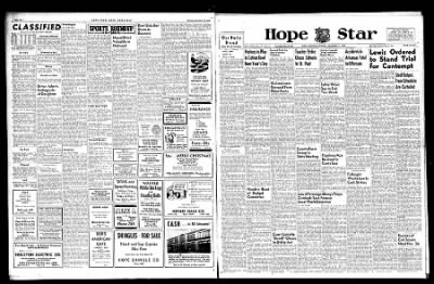 Hope Star from Hope, Arkansas on November 25, 1946 · Page 1