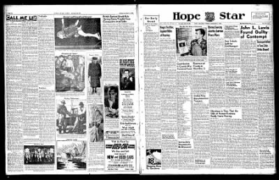 Hope Star from Hope, Arkansas on December 3, 1946 · Page 1