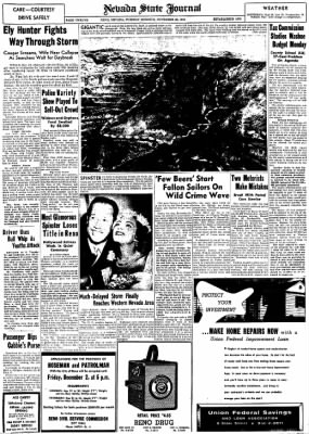 Nevada State Journal from Reno, Nevada on November 22, 1955 · Page 12