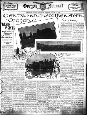 The Oregon Daily Journal from Portland, Oregon on August 27