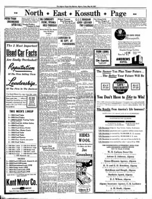 The Algona Upper Des Moines from Algona, Iowa on May 20, 1937 · Page 9