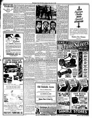 The Algona Upper Des Moines from Algona, Iowa on June 17, 1937 · Page 4