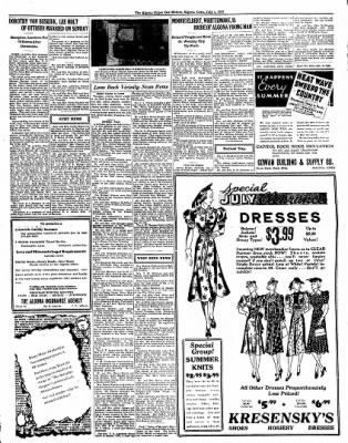 The Algona Upper Des Moines from Algona, Iowa on July 1, 1937 · Page 5