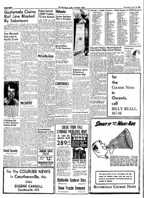 The Courier News from Blytheville, Arkansas on May 22, 1954 · Page 8