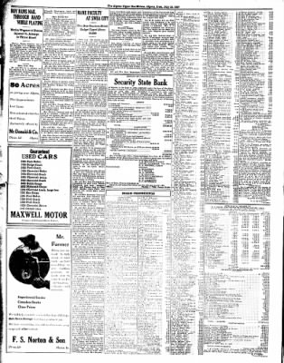 The Algona Upper Des Moines from Algona, Iowa on July 15, 1937 · Page 6