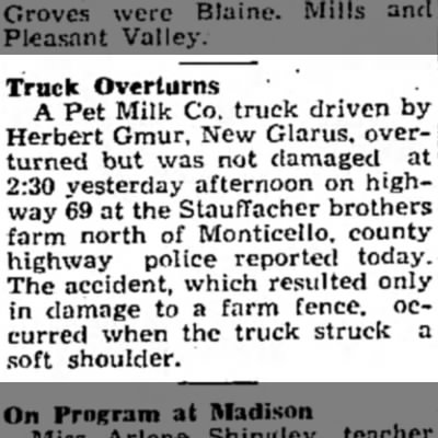 29 Mar 1947 Dad truck accident - Newspapers com