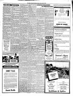 The Algona Upper Des Moines from Algona, Iowa on July 22, 1937 · Page 5