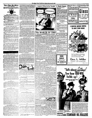 The Algona Upper Des Moines from Algona, Iowa on August 26, 1937 · Page 2