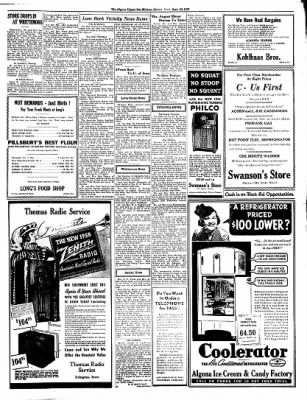 The Algona Upper Des Moines from Algona, Iowa on September 23, 1937 · Page 9