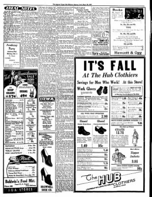 The Algona Upper Des Moines from Algona, Iowa on September 30, 1937 · Page 7