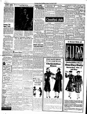 The Algona Upper Des Moines from Algona, Iowa on September 30, 1937 · Page 12