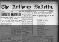 The Anthony Bulletin