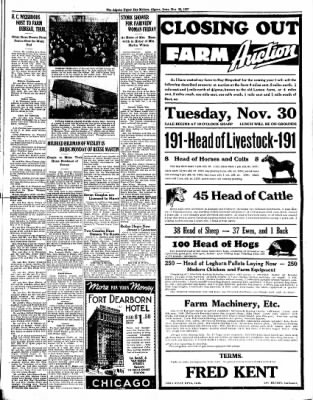 The Algona Upper Des Moines from Algona, Iowa on November 25, 1937 · Page 3
