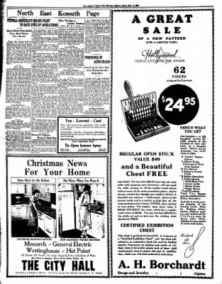 The Algona Upper Des Moines from Algona, Iowa on December 9, 1937 · Page 14