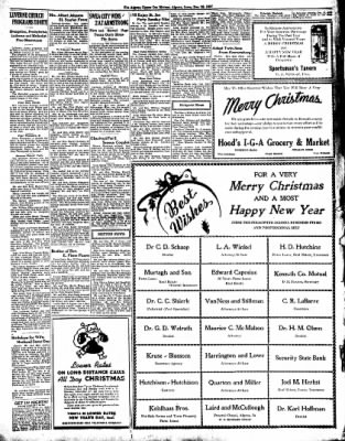 The Algona Upper Des Moines from Algona, Iowa on December 23, 1937 · Page 3