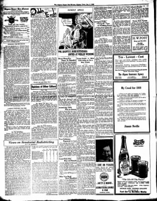 The Algona Upper Des Moines from Algona, Iowa on January 4, 1938 · Page 2