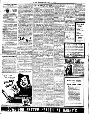 The Algona Upper Des Moines from Algona, Iowa on January 25, 1938 · Page 2