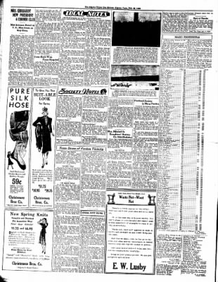 The Algona Upper Des Moines from Algona, Iowa on February 22, 1938 · Page 6