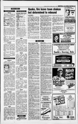 Herald and Review from Decatur, Illinois on April 27, 1992