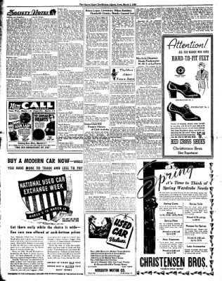 The Algona Upper Des Moines from Algona, Iowa on March 1, 1938 · Page 4