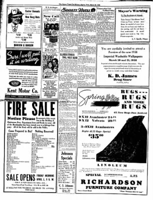 The Algona Upper Des Moines from Algona, Iowa on March 29, 1938 · Page 6