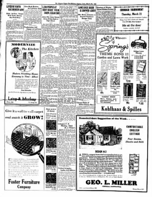 The Algona Upper Des Moines from Algona, Iowa on March 29, 1938 · Page 8