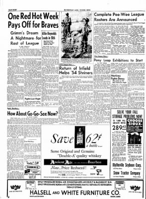 The Courier News from Blytheville, Arkansas on May 25, 1954 · Page 8