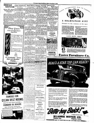 The Algona Upper Des Moines from Algona, Iowa on May 10, 1938 · Page 2