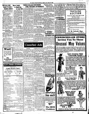 The Algona Upper Des Moines from Algona, Iowa on May 10, 1938 · Page 8