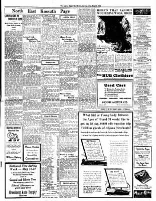 The Algona Upper Des Moines from Algona, Iowa on May 17, 1938 · Page 7