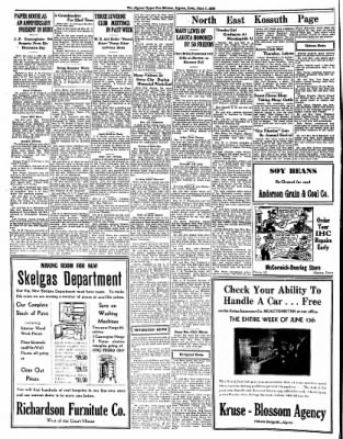 The Algona Upper Des Moines from Algona, Iowa on June 7, 1938 · Page 8