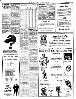 The Algona Upper Des Moines from Algona, Iowa on June 14, 1938 · Page 2