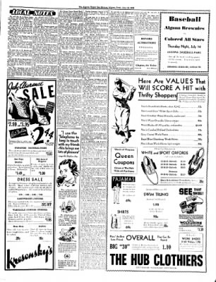 The Algona Upper Des Moines from Algona, Iowa on July 12, 1938 · Page 5
