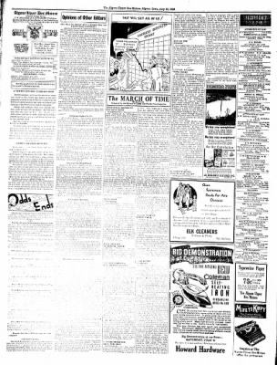 The Algona Upper Des Moines from Algona, Iowa on July 12, 1938 · Page 6