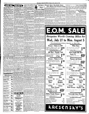 The Algona Upper Des Moines from Algona, Iowa on July 26, 1938 · Page 5