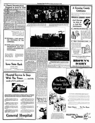 The Algona Upper Des Moines from Algona, Iowa on August 16, 1938 · Page 17