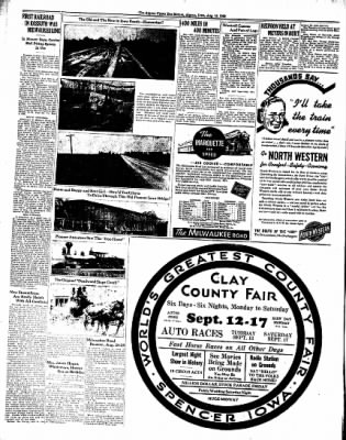 The Algona Upper Des Moines from Algona, Iowa on August 16, 1938 · Page 30